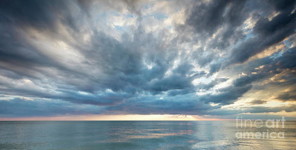 Photograph - Sunset Over The Gulf Of Mexico by Brian Jannsen