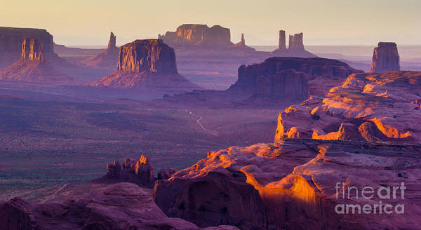Remote Photograph - Sunset Over The Hunts Mesa by Ronnybas Frimages