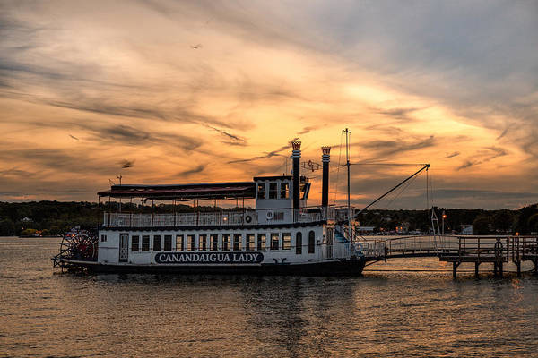 Photograph - Sunset Over The Lady by Rod Best