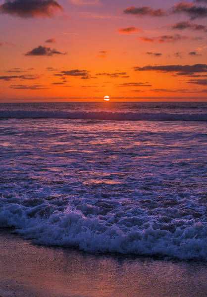 Photograph - Sunset Over The Pacific by Jonathan Hansen