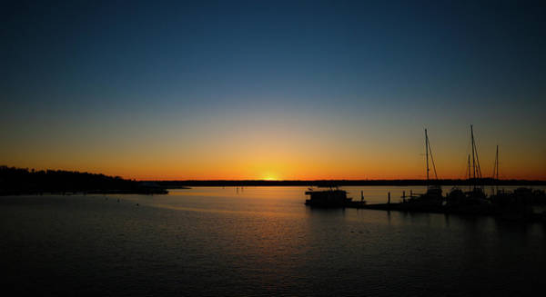 Photograph - Sunset Over The Potomac by Lora J Wilson