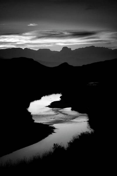 Texas Landscape Photograph - Sunset Over The Rio Grande by Kim Kozlowski Photography, Llc