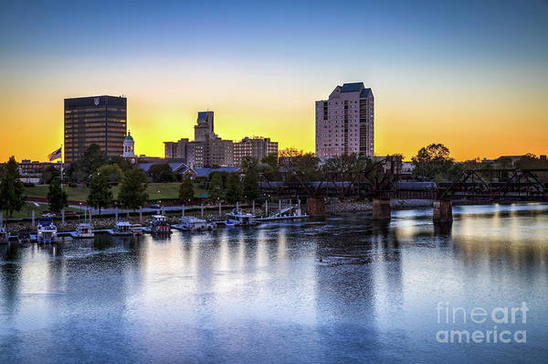 Photograph - Sunset Over The Savannah - Augusta Ga by Sanjeev Singhal