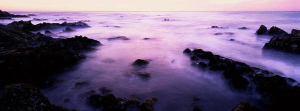 Wall Art - Photograph - Sunset Over The Sea, 17-mile Drive by Panoramic Images