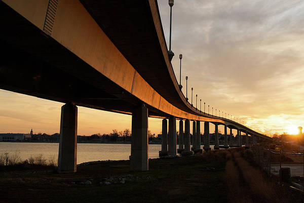 Photograph - Sunset Over The Severn River by Mark Duehmig