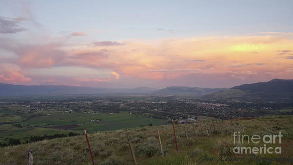 Wall Art - Photograph - Sunset Over The Valley by Jennifer Renner
