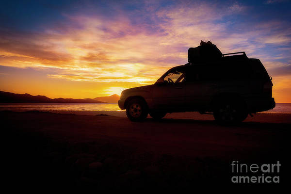 Wall Art - Photograph - Sunset Overland by Peng Shi