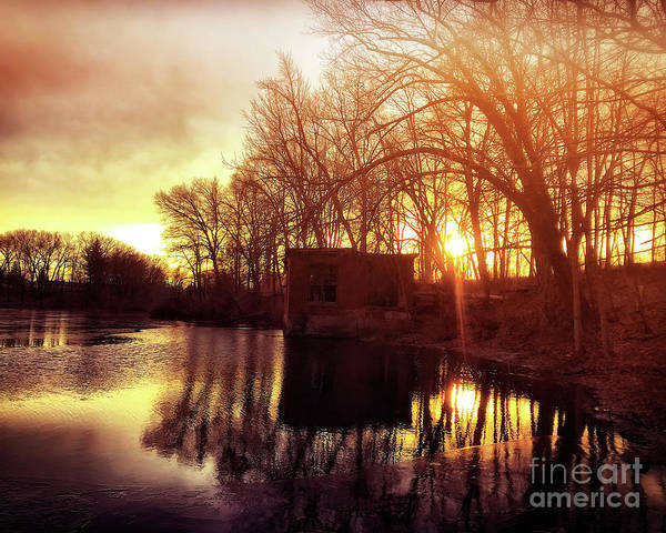Wall Art - Photograph - Sunset Reflection by HD Connelly