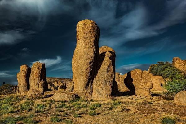 Wall Art - Photograph - Sunset Rocks by David Quillman