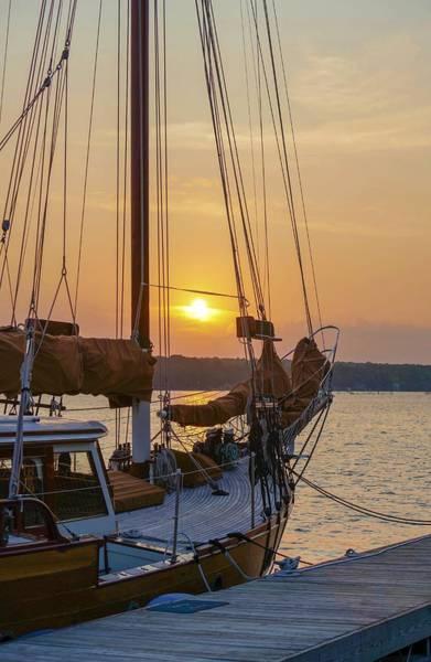 Photograph - Sunset Sail by Susan Rydberg