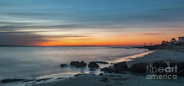 Photograph - Sunset Seashore - Charleston South Carolina  by Dale Powell