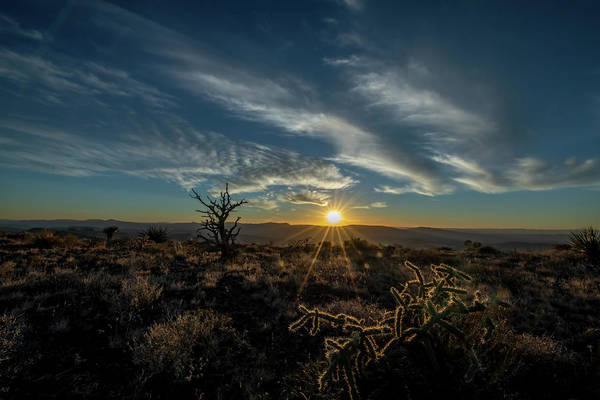 Photograph - Sunset Serria Vieja by David Pine