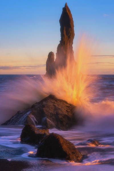Wall Art - Photograph - Sunset Splash by Darren White