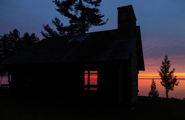 Photograph - Sunset Through The Window by Paul Schultz