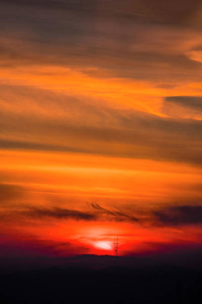 Wall Art - Photograph - Sunset Tower by Vincent James