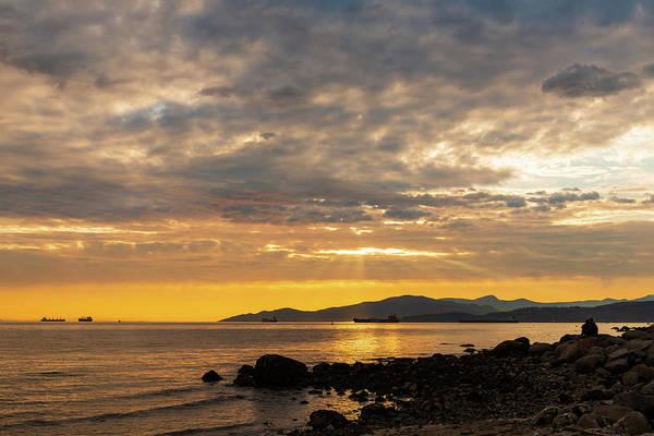 Digital Art - Sunset Waiting by Michael Lee