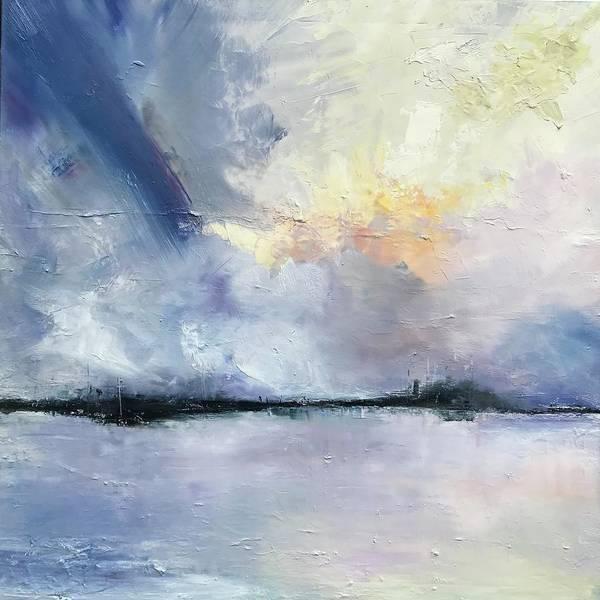 Wall Art - Painting - Sunset Horizon  by Julia S Powell