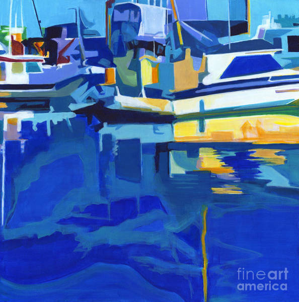 Painting - Sunshine Blues by Tanya Filichkin