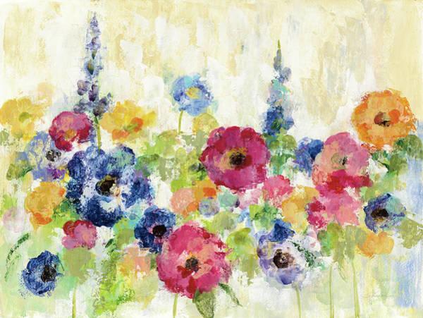 Wall Art - Painting - Sunshine Field Flowers by Silvia Vassileva