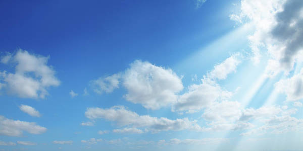 End Of Summer Photograph - Sunshine In Clean Sky by Imagedepotpro