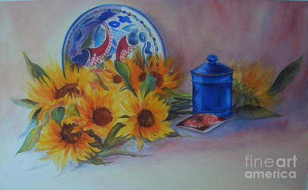 Painting - Sunshine In The Kitchen by Beatrice Cloake