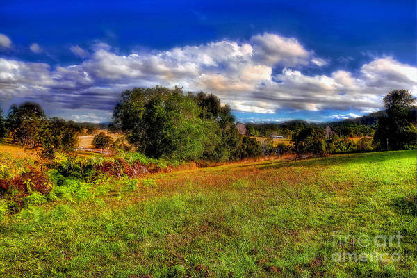 Wall Art - Photograph - Sunshine On Country Landscape By Kaye Menner by Kaye Menner