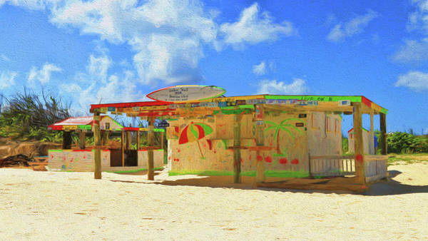 Photograph - Sunshine Shack Rendezvous Bay Anguilla by Ola Allen