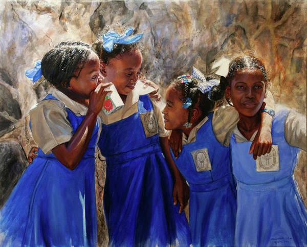 Saint Lucia Painting - Sunsplash #2 by Jonathan Guy-Gladding JAG