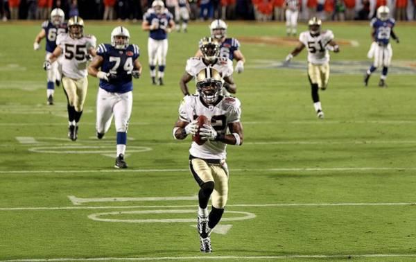 Super Sport Photograph - Super Bowl Xliv by Ezra Shaw