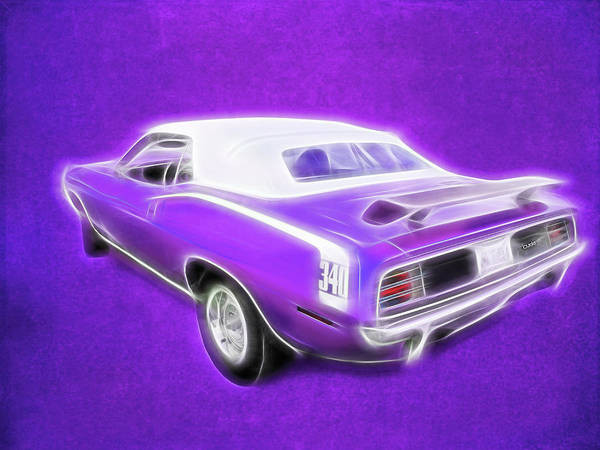 Digital Art - Super Cuda by Rick Wicker