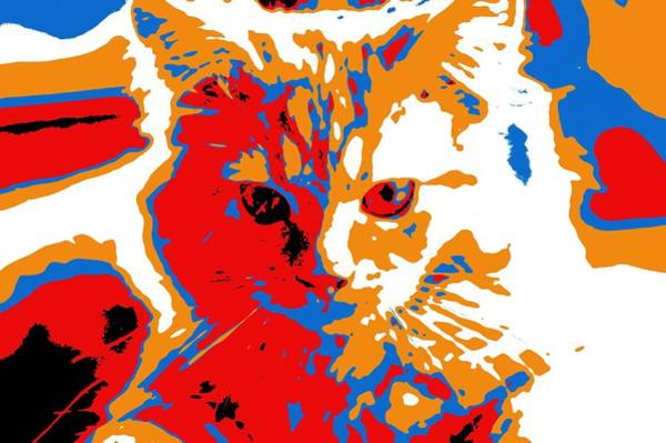 Digital Art - Super Duper Cat Election Poster by Don Northup