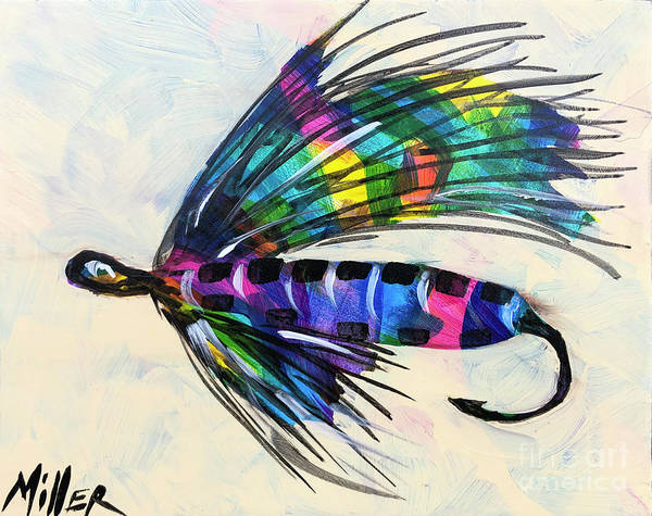 Wall Art - Painting - Super Fly I by Tracy Miller