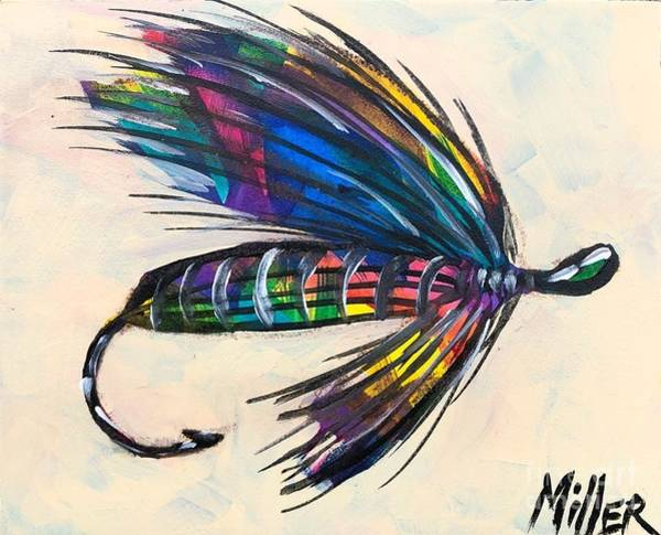 Wall Art - Painting - Super Fly II by Tracy Miller