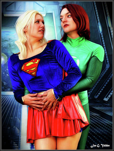 Photograph - Super Friends by Jon Volden