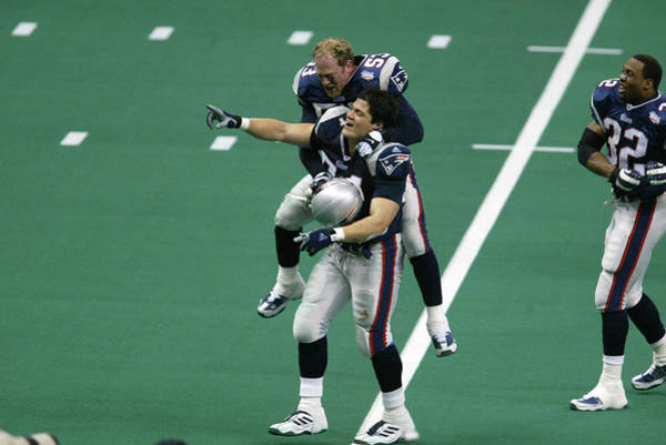 Photograph - Superbowl Xxxvi  X by Al Bello