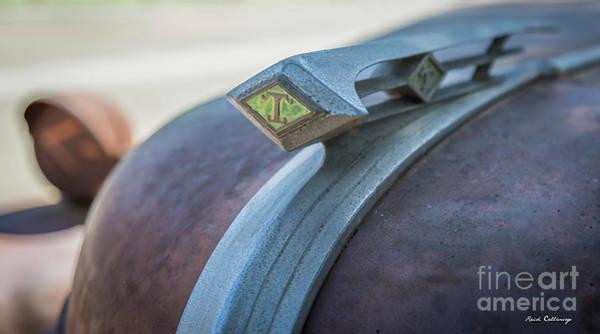 Photograph - Superior Grade Diamond T Truck Emblem Art by Reid Callaway
