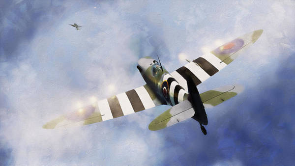 Painting - Supermarine Spitfire - 10 by Andrea Mazzocchetti