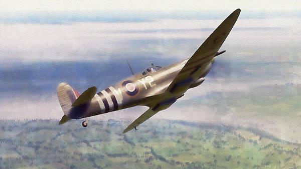 Painting - Supermarine Spitfire - 30 by Andrea Mazzocchetti