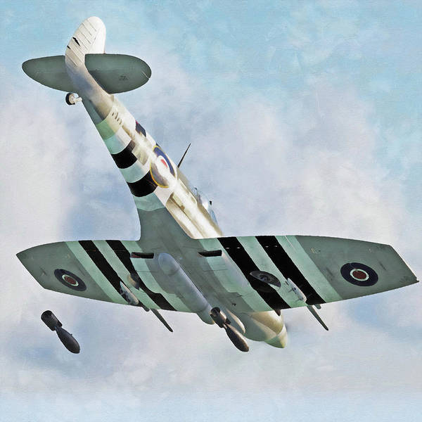 Painting - Supermarine Spitfire - 31 by Andrea Mazzocchetti