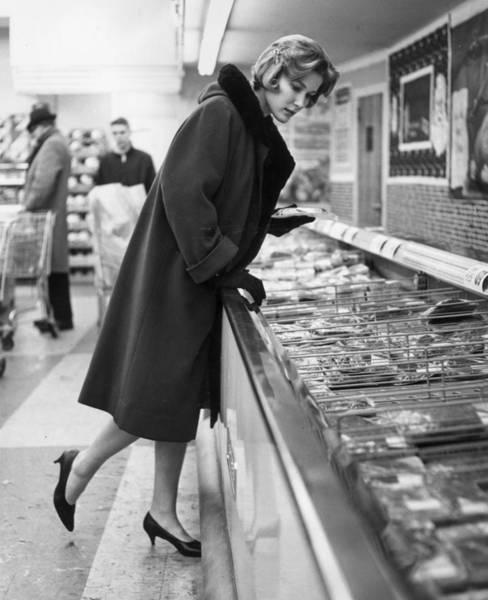 Wall Art - Photograph - Supermarket Shopper by Hill Photographers