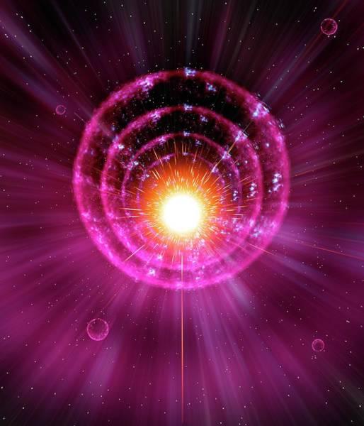 Majestic Digital Art - Supernova Explosion by Mehau Kulyk/spl