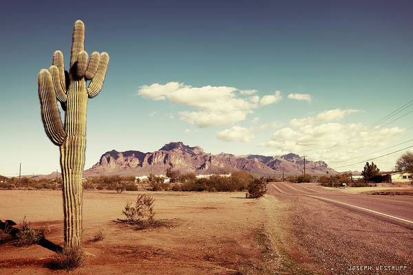 Superstition Mountains Photograph - Superstition by Joseph Westrupp