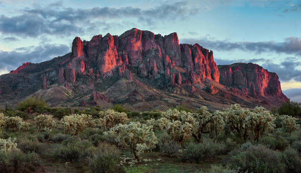 Wall Art - Photograph - Superstition Mountains Colors by Dave Dilli