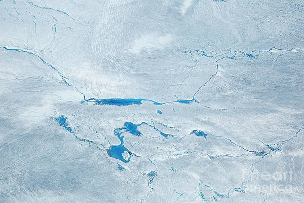 Wall Art - Photograph - Supra Glacial Lakes Over The Ice Sheet by Milan Petrovic