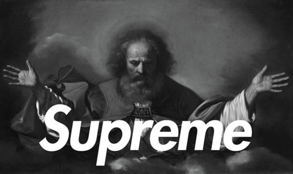 Wall Art - Painting - Supreme-1 by Nikita