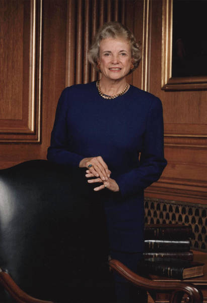 Court Photograph - Supreme Court Justice Sandra Day Oconnor by Getty Images