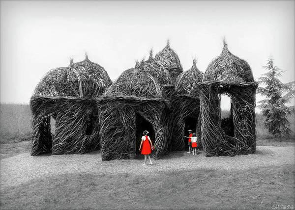 Wall Art - Photograph - Surreal Visitation Lewis Ginter Botanical Garden by Marilyn De Block