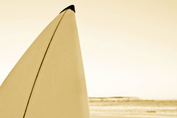 Surfing Photograph - Surf Board by John White Photos