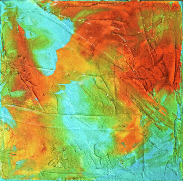 Wall Art - Painting - Surface Disturbance by Paulette B Wright
