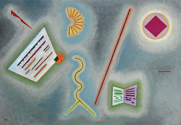 Wall Art - Painting - Surfaces And Lines, 1930 by Wassily Kandinsky